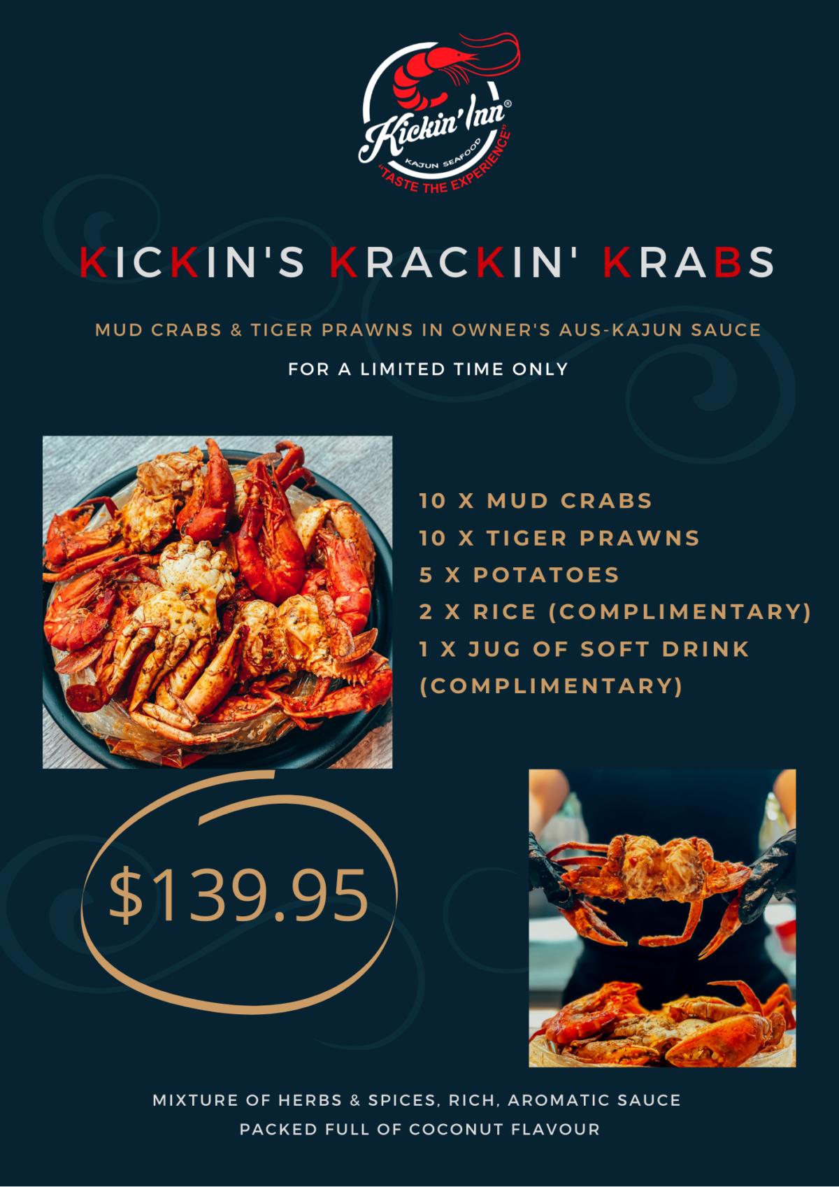 Kickin's Krackin' Krabs!