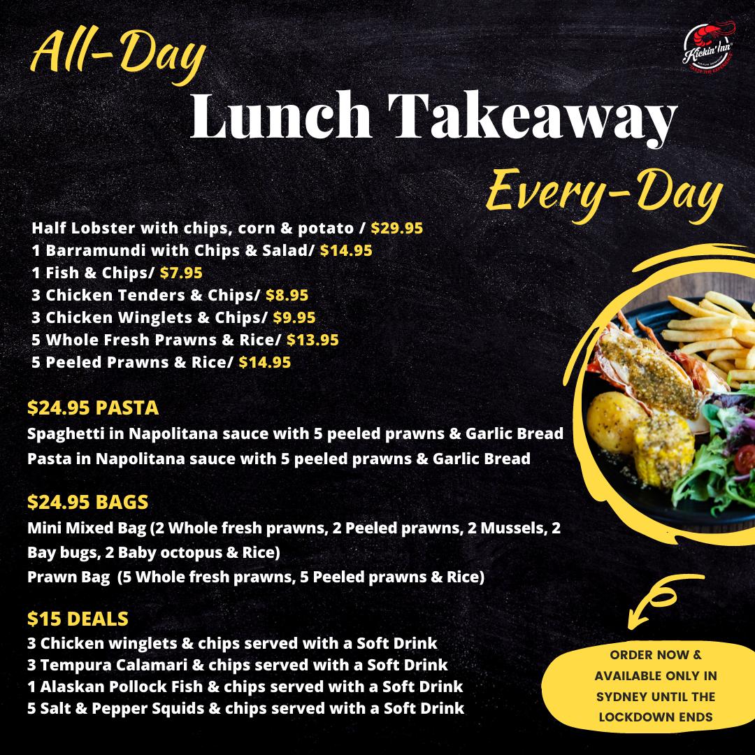 All-Day Lunch Takeaway in Sydney