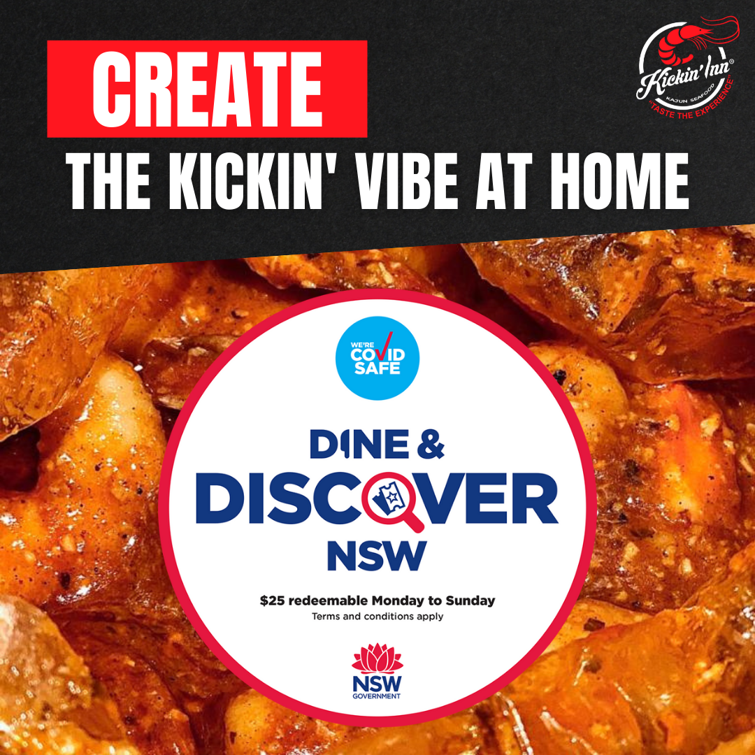 Dine & Discover Vouchers Accepted!
