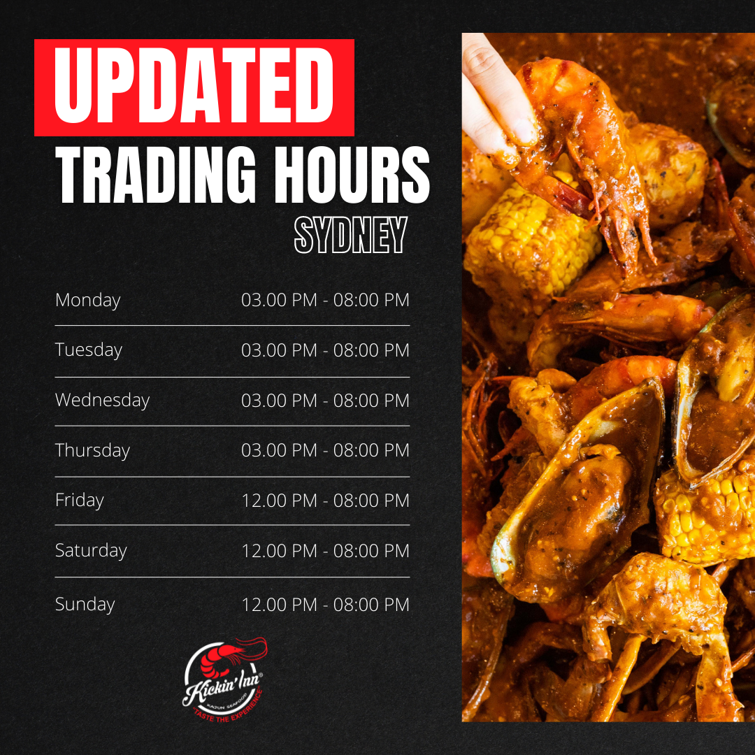 Updated Trading Hours (SYDNEY)